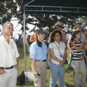 Agua Salud Project Inauguration. Nefertaris Daguerre, Marla Diaz, Luis Turner
