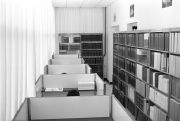 Reading cubicles, STRI Library, Ancon building