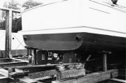 Repairing the Tethys, STRI boat