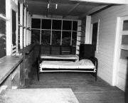 beds at the old dormitory in BCI