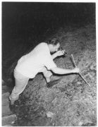 Dr. Theodore Shneirla, recollecting samples