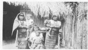 Kuna Indian women with children
