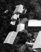 Aerial view of BCI buildings