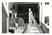 Remodeling in Tivoli building